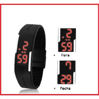 3 Relojes Led Sport Watch Image