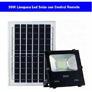 30W lámpara led Solar Image
